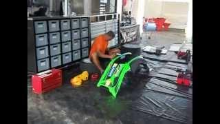 Oprava nárazníka (bumper repair)