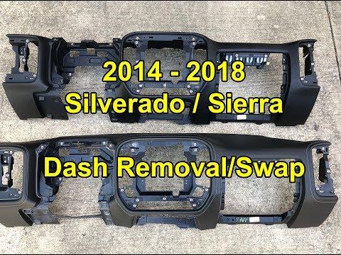 2014 - 2018 Silverado Sierra:  Dash Swap