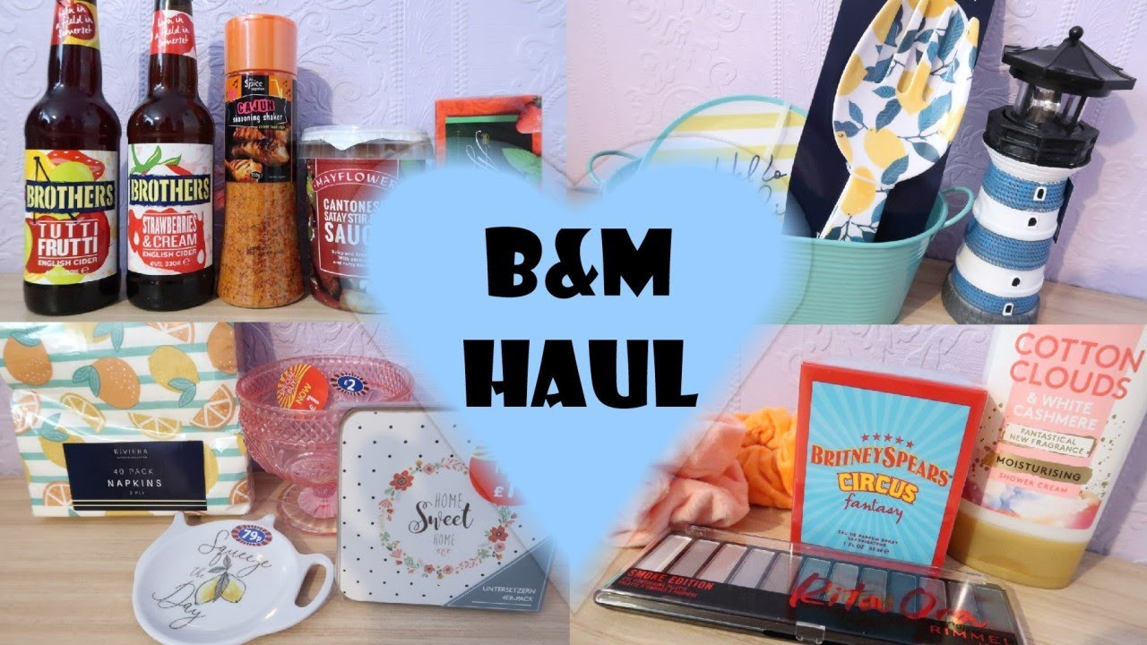 B&M Haul July 2020 | New Shopping Haul UK | Homeware, Summer Home Decor & Grocery Haul