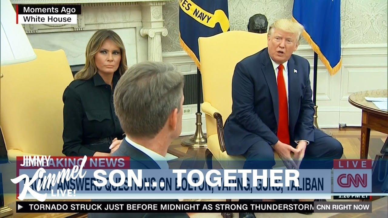 'Don't vape,' Trump says