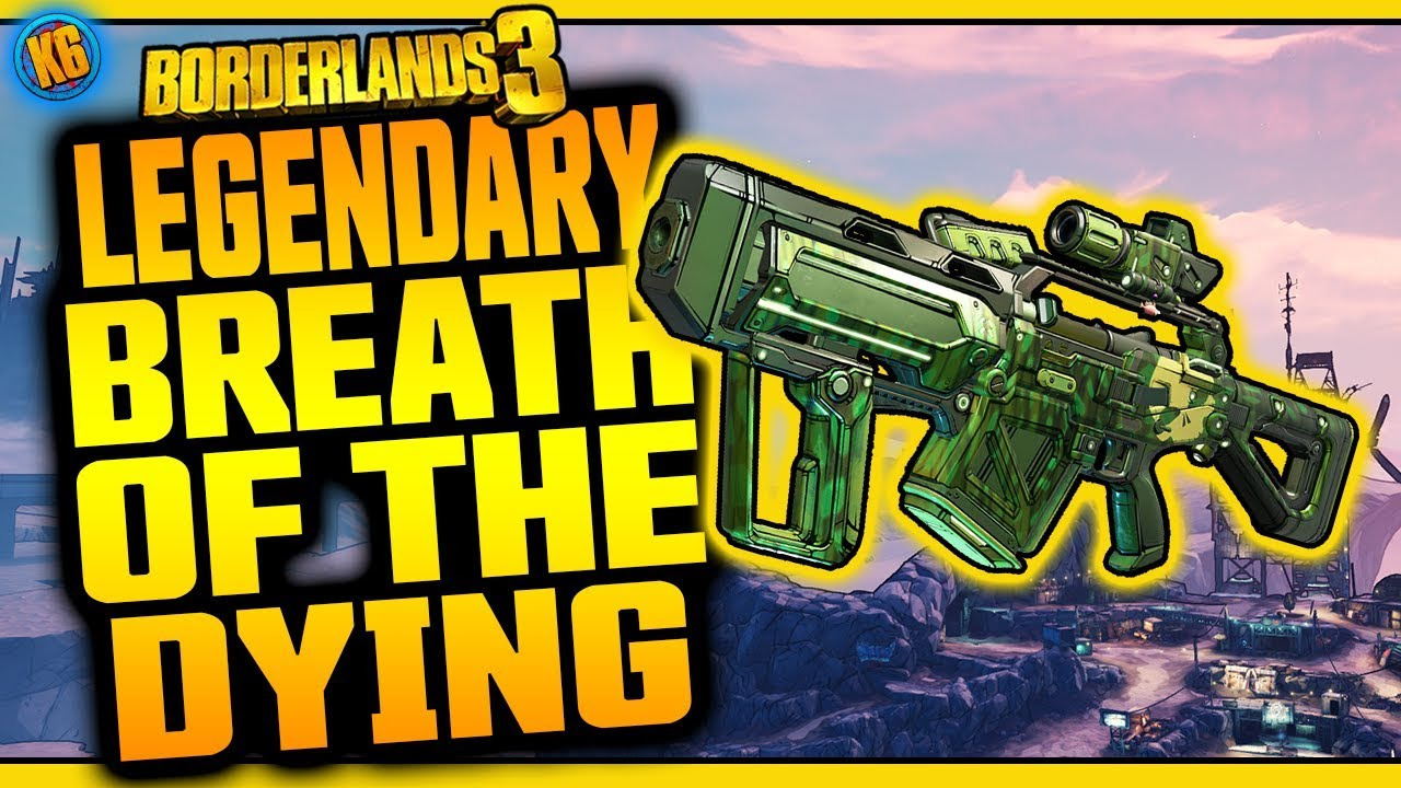 Borderlands 3 | BREATH OF THE DYING | Legendary Weapon Review thumbnail