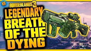 Borderlands 3 | BREATH OF THE DYING | Legendary Weapon Review
