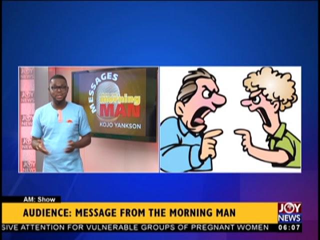 Audience - AM Show on JoyNews (19-10-18)