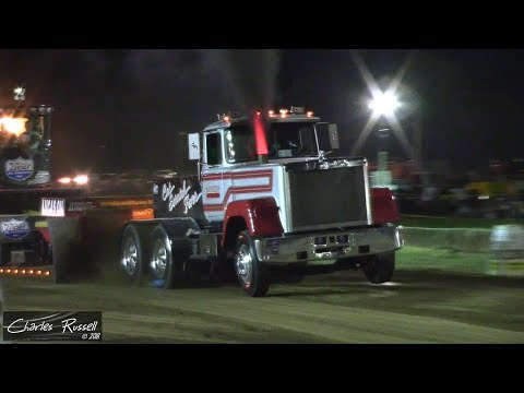 Tractor/Truck/Semi Pulls! 2018 Great Geauga County Fair Pull USA East
