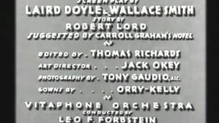 Bordertown 1935 -- OPENING TITLE SEQUENCE