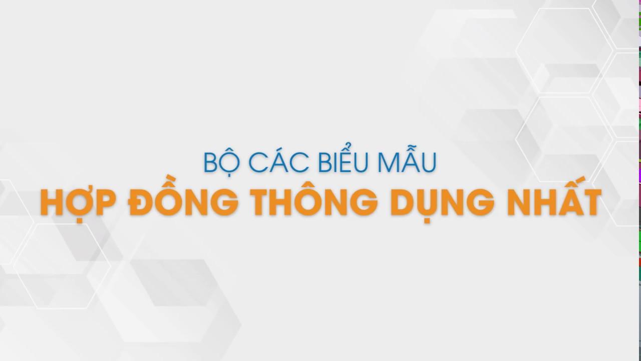 Bộ 80+ Biểu Mẫu Hợp Đồng Thông Dụng Nhất Năm 2019 | Tailieu.vn