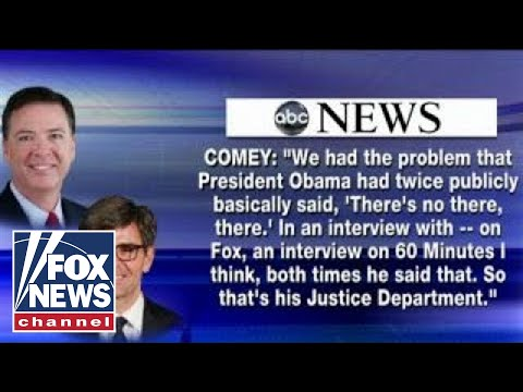 Questionable cuts? Hume on ABC's editing of Comey interview