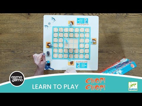 Learn to Play Chop! Chop! from Djeco!