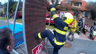 Jakub Přibyl- Železný hasič Česká Kubice 2017(HD)