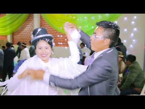VIDEO: elsita del sur en vivo 2018 - matrimonio  de cristian & precilia -juli - puno