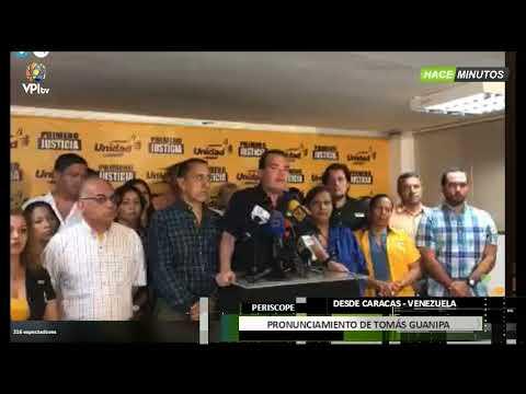 Venezuela- Tomas Guanipa le responde a Nicolás Maduro-VPITV