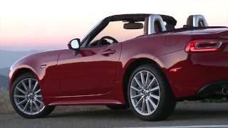 2017 Fiat 124 Spider Lusso Design | AutoMotoTV