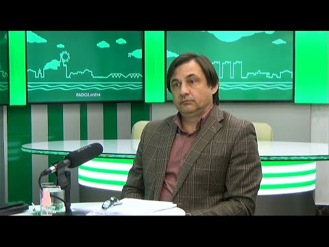 Глава города Комсомольска-на-Амуре Александр Викторович Жорник.