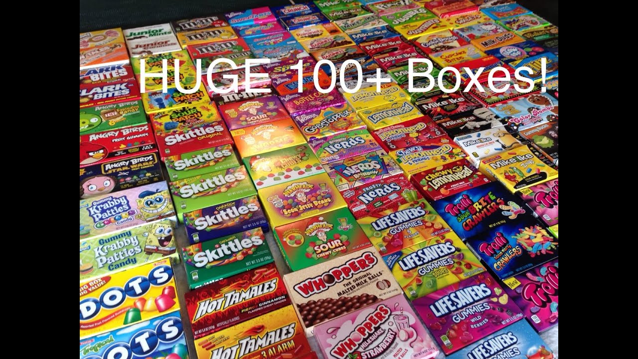 HUGE Candy Box Collection Updated!! - YouTube