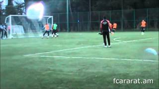 FC Ararat training in Sochi (12.02.2015)