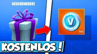 ❌FREE 500 V-BUCKS à FORTNITE! 😱 - GIFT de EPIC GAMES à FORTNITE!!