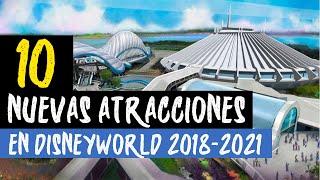 10 Nuevas atracciones en Disney World Orlando 2018-2019