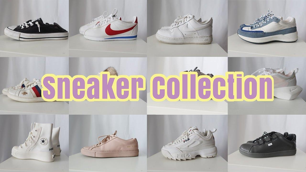 运动鞋合集Sneaker Collection | 百搭运动鞋/小白鞋 | 鞋控必看 | nike/yeezy /fila apc/converse/common projects/gucci