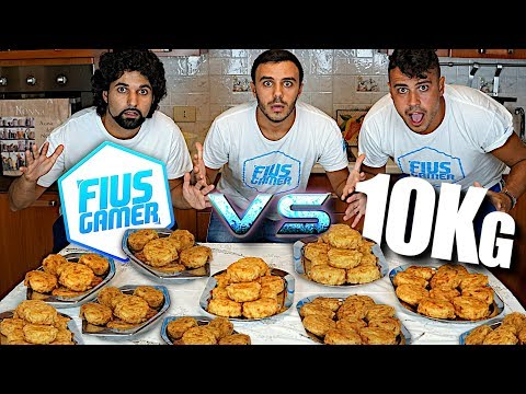 FIUS GAMER vs 10Kg DI FRITTATINE NAPOLETANE!!!