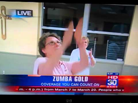 Tonya's Zumba Class On TV   Part 1 Of 7