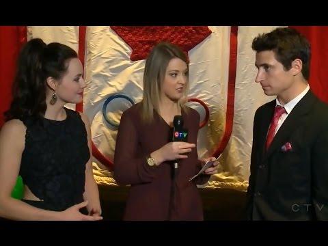 Tessa Virtue & Scott Moir Interview for CTV News Saskatoon