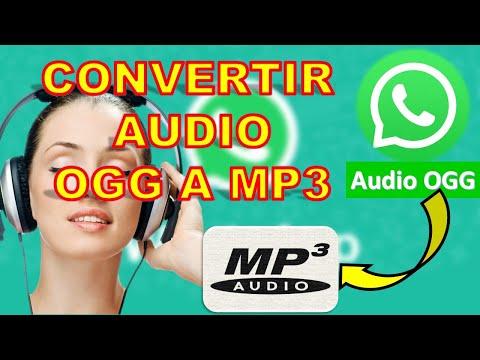 convertidor audio OGG A MP3