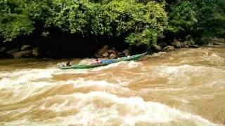 Jeram 8 sungai kapuas. borneo rapids by dayak punan