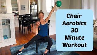 Chair Aerobics Workout. 30 Minute Chair Fitness Class
