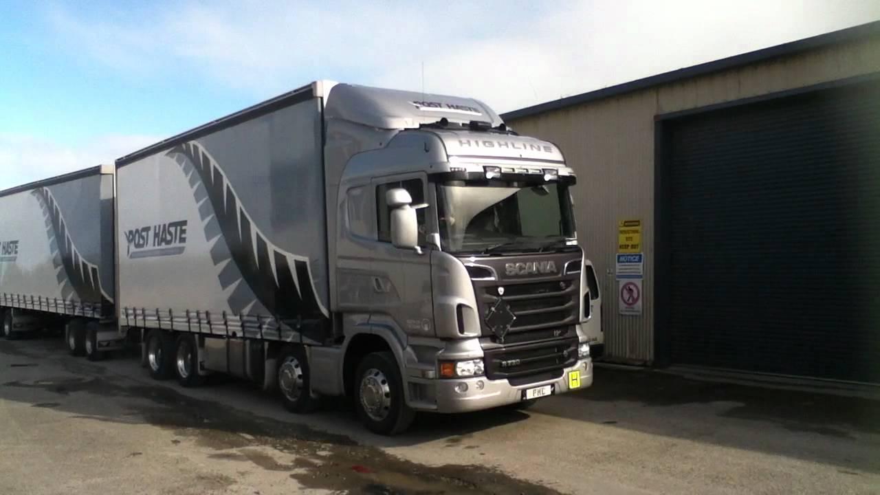 Scania V8 R730 Highline - YouTube