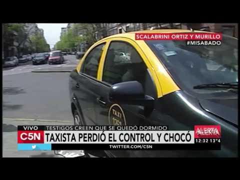 C5N - Tránsito: Choque en Scalabrini Ortiz y Murillo, Villa Crespo