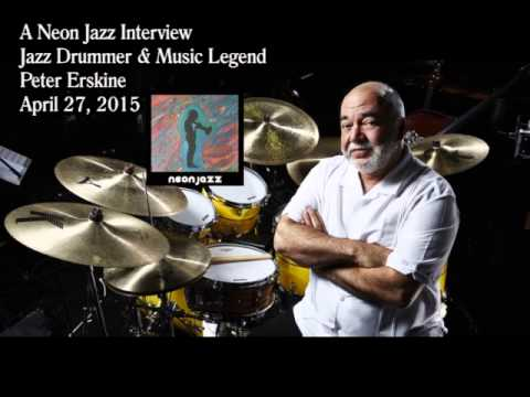 A Neon Jazz Interview with Jazz Drummer & Music Legend Peter Erskine