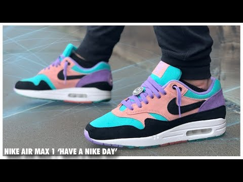 "Nike Air Max 1 ND ""Have A Nice Day"" Sneaker Review"