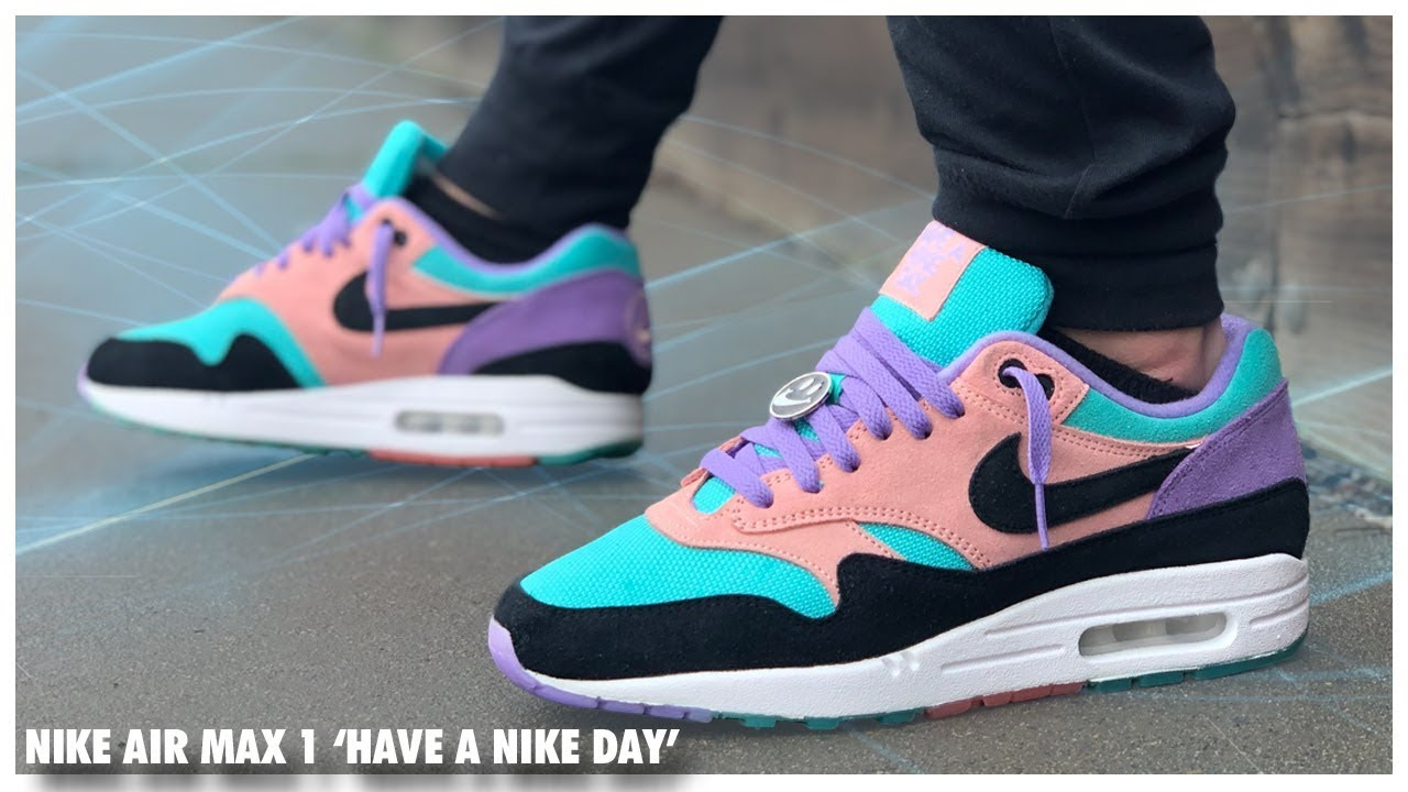 e39ed5b6e Nike Air Max 1 'Have a Nike Day' | Detailed Look and Review ...