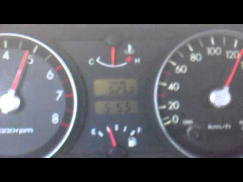 hyundai getz 1 1 0 140km h acceleration youtube. Black Bedroom Furniture Sets. Home Design Ideas