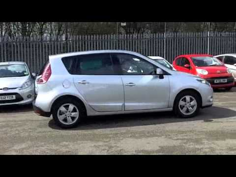 renault scenic diesel estate 2011 1 5 dci 110 dynamique tomtom 5dr edc fv61mmx youtube. Black Bedroom Furniture Sets. Home Design Ideas