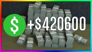How To Make $420,600 SOLO & EASY in GTA 5 Online | NEW Best Fast Unlimited Money Guide/Method 1.43