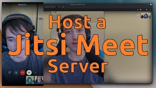 Host a Jitsi Meet Server