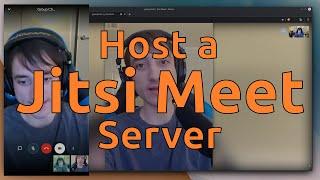 Host a Jitsi Meet Server