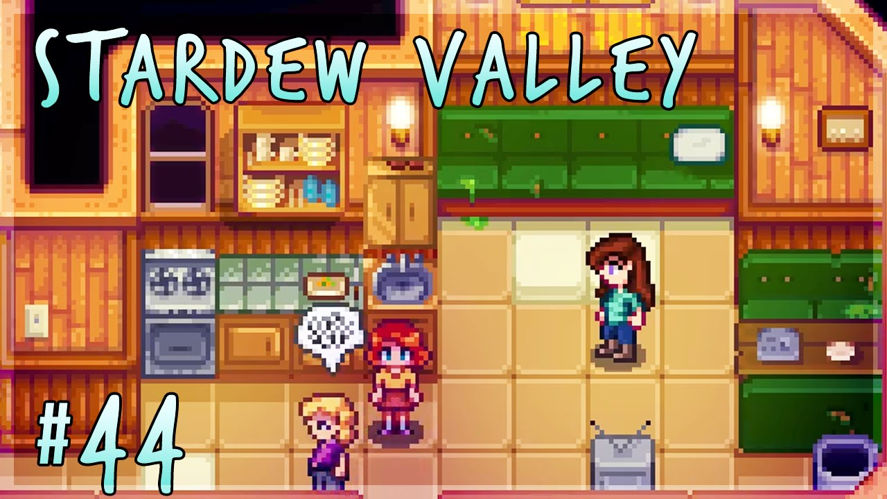 Cleaning Up With Penny & Pam! | Stardew Valley Let's Play - Episode 44