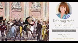 "Jane Austen & Co.: ""Dancing With Jane Austen,"" featuring historian and author Susannah Fullerton"
