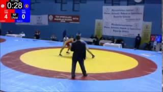 74 Ахмед Гаджимагомедов - Айдар Балданбаев