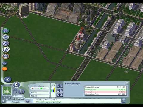 SimCity 4: Let's Play Pinecastle, episode 3 (metro system connections)