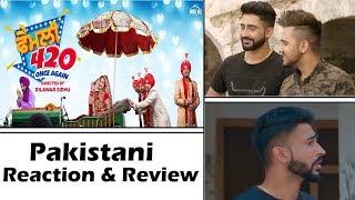 Family 420 Trailer | Pakistani Reacts | Punjabi Movie | Gurchet Chitarkar | Jazz Sodhi | Dilawar