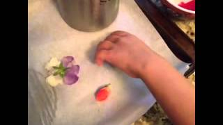 How To Make Crystallized Flower Petals