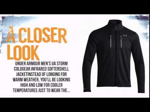 d656d7930 Under Armour Storm ColdGear Infrared Softershell Jacket Men's- Black -  TheSkiBum.com