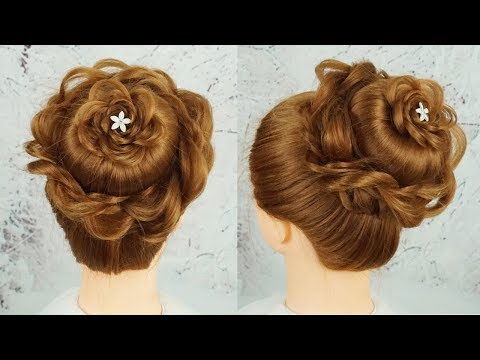 5 Mins Hairstyle Easy Wedding Hairstyles - New Twisted Juda Hairstyle 2019 | Bridal Hairstyles thumbnail
