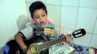 velhinha gaga Luan Santana Com meu pequeno( Flavio Henrique)