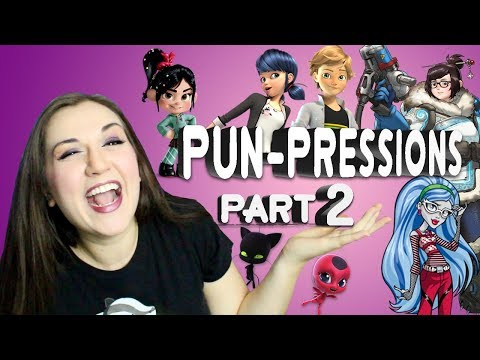 PUN-PRESSIONS! (Part 2) = Puns + Impressions - Disney Pixar  - Madi2theMax en streaming
