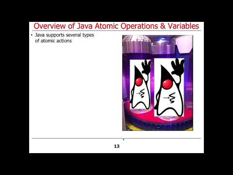 Overview Of Java Atomic Operations And Variables