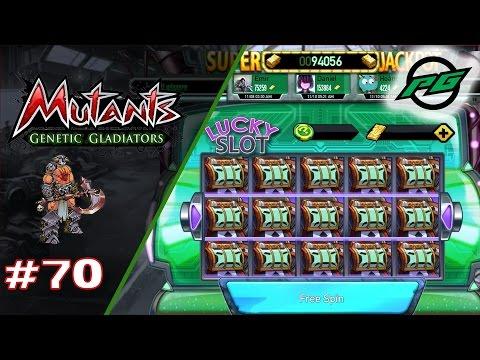 Mutants: Genetic Gladiators E70 - 350+ Luck Slot Spins